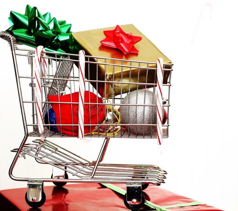 Christmas Cart Royalty Free Stock Photo