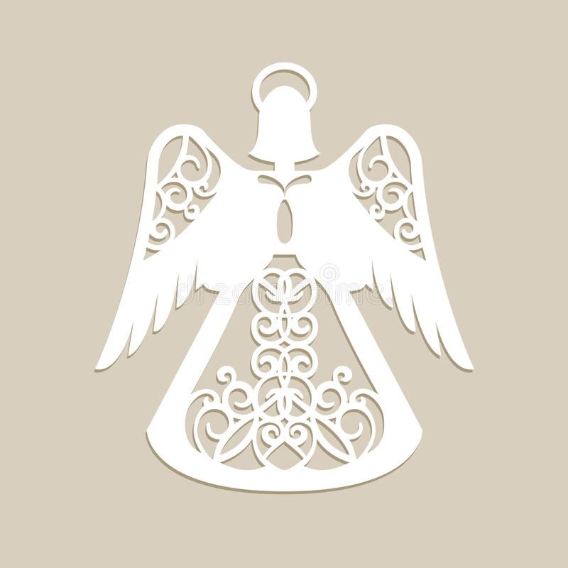 Free Christmas Carved Openwork Angel Royalty Free Stock Image - 81121936
