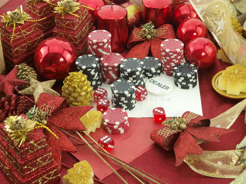Download Christmas Casino Background Stock Photo - Image: 17235072