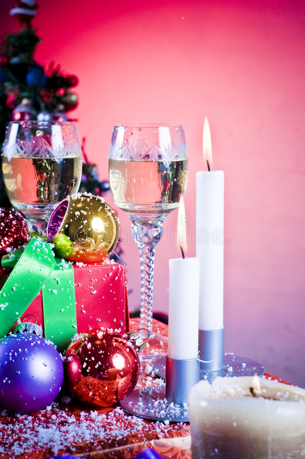 Download Christmas celebration stock photo. Image of glass, colorful - 7330316