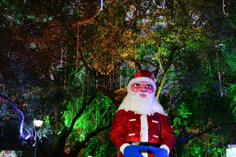 Christmas Celebration In Kolkata. Christmas carols, choir, light and sound exhibition, rock music, shimmering lights, delectable food - these are the myriad royalty free stock photos