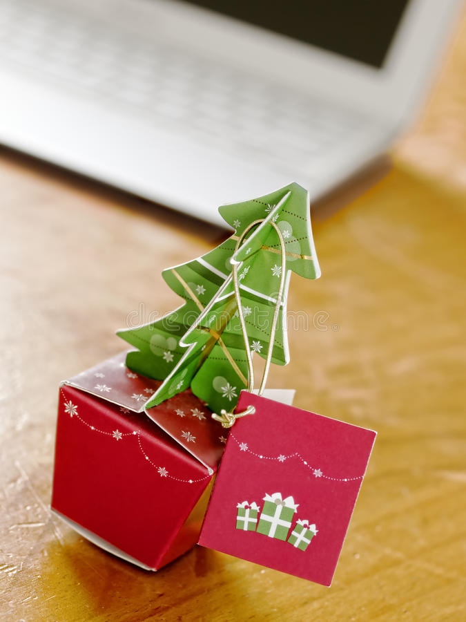 Download Christmas Celebrations In Office Stock Photo - Image: 27358480