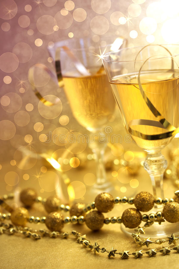 Download Christmas champagne stock photo. Image of champagne, glittering - 22013666