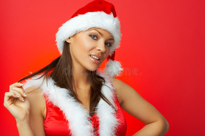 Download Christmas Chick stock photo. Image of joyful, ritual, santa - 6480768