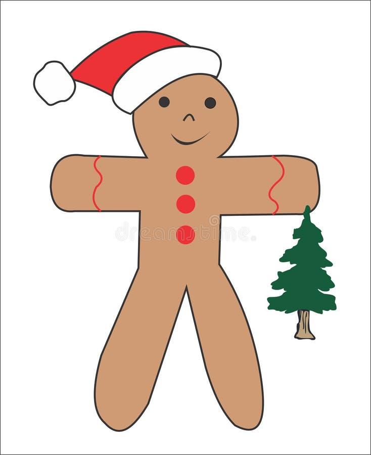 Christmas cincer bred man stock photo