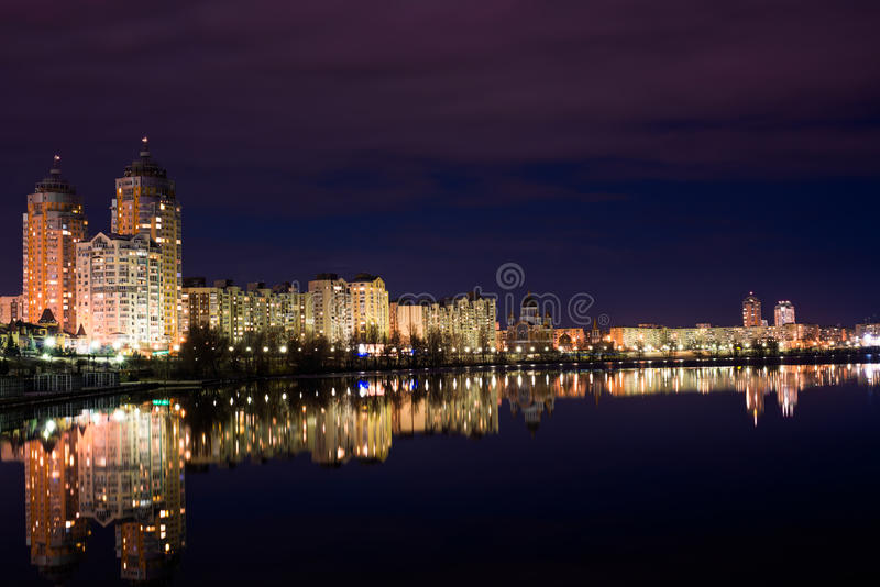 christmas city fairy latvia night provincial shortly similar tale to στοκ εικόνα