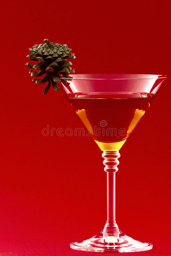 Free Christmas Cocktail Royalty Free Stock Photography - 33553307