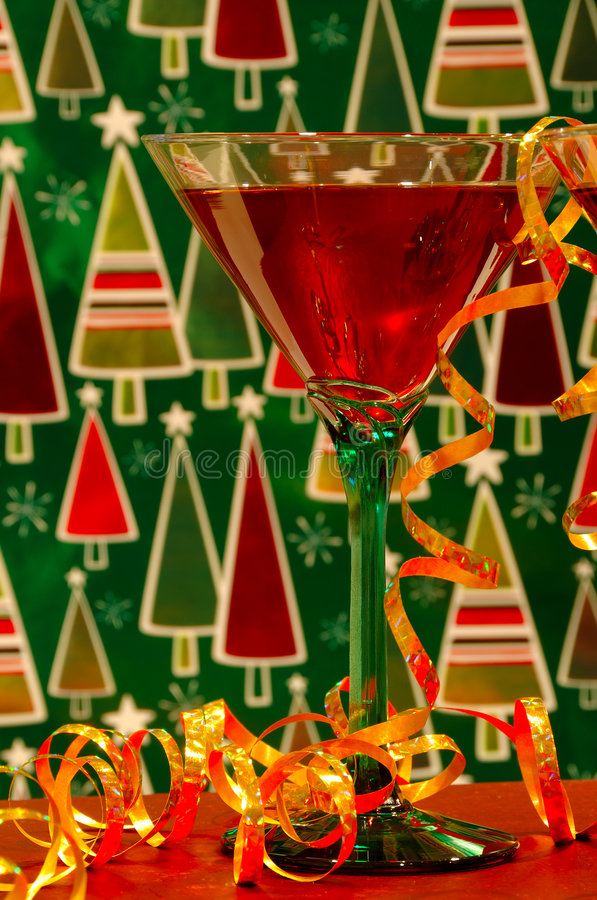 Christmas Cocktails royalty free stock images