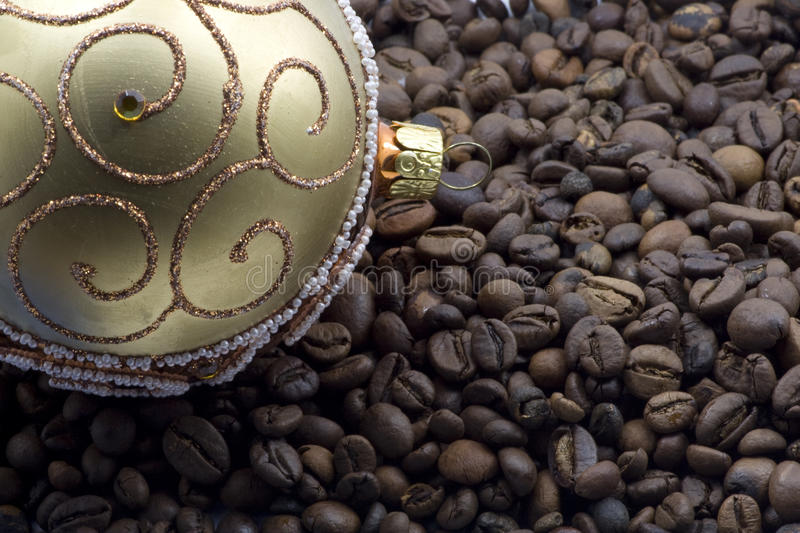 Download Christmas and coffee stock photo. Image of present, happy - 12039962
