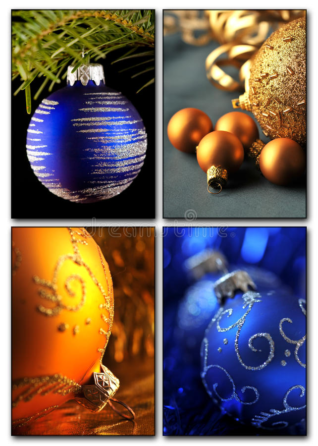 Download Christmas collage stock illustration. Image of gift, postcard - 27627327