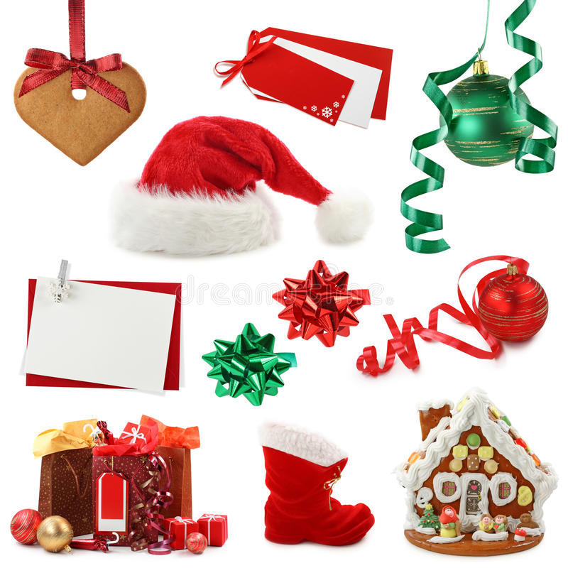 Download Christmas collection stock image. Image of white, house - 10183753
