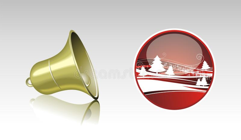 Download Christmas Collection With Shiny Elements. Stock Photo - Image: 21771400