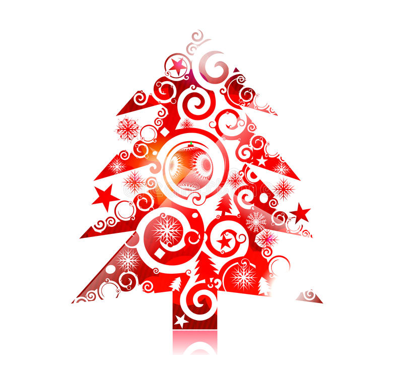Download Christmas colorful design stock image. Image of grunge - 17053321