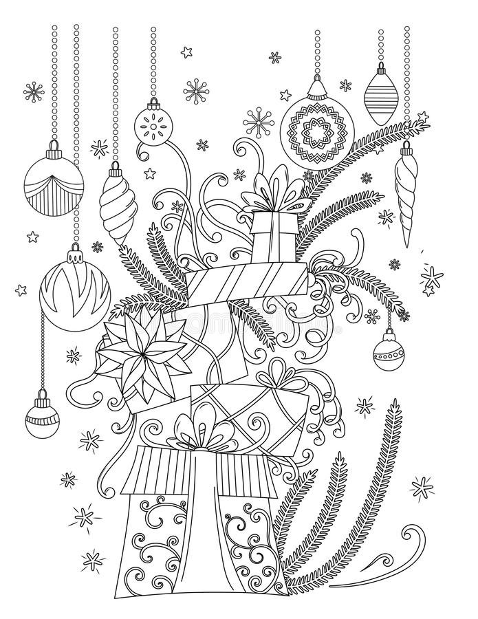 Christmas Bell | Christmas coloring pages, Christmas coloring ... | 900x695