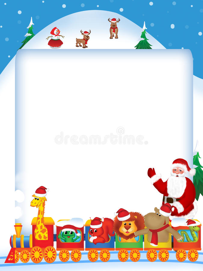 Download Christmas is coming stock illustration. Illustration of illustration - 23042393