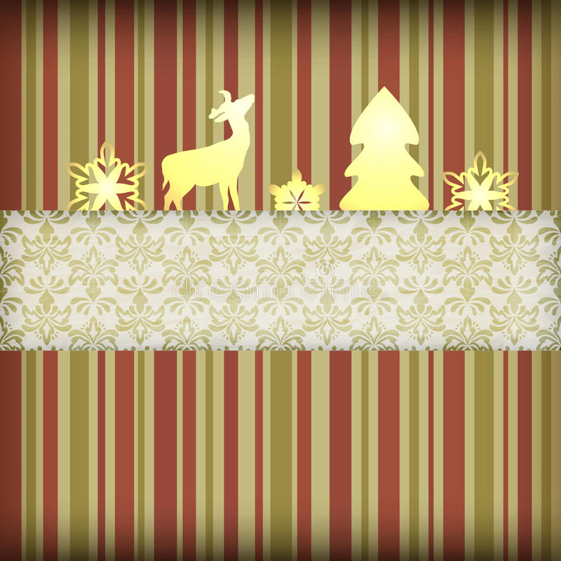 Christmas Composition stock illustration