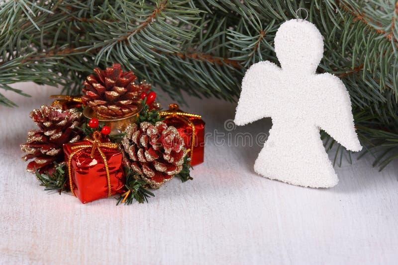 Download Christmas composition stock image. Image of brown, christmas - 28127225