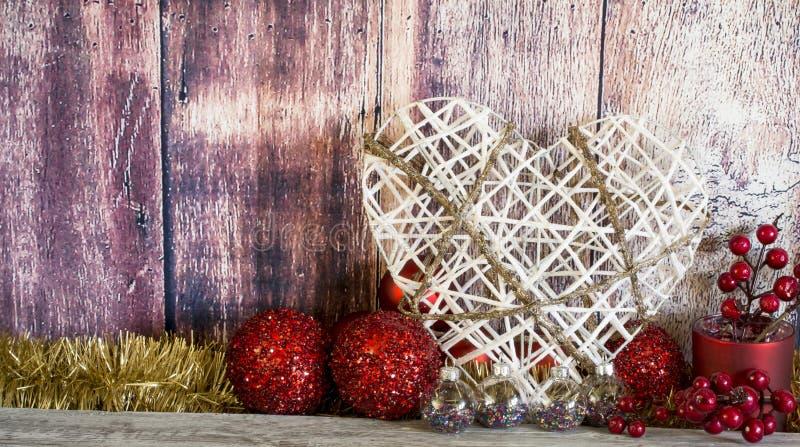 Christmas composition stock photo