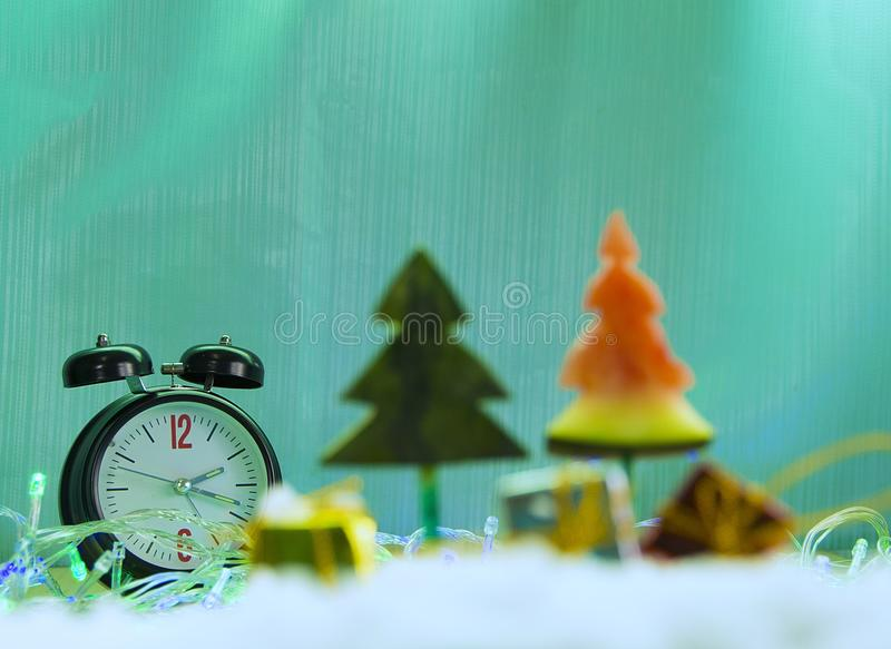 02.00 Santa`s uncle royalty free stock photos