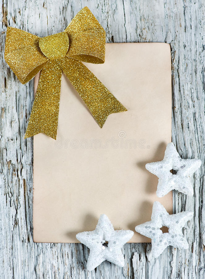 Download Christmas Congratulation Card Stock Image - Image of scratch, composition: 27512907
