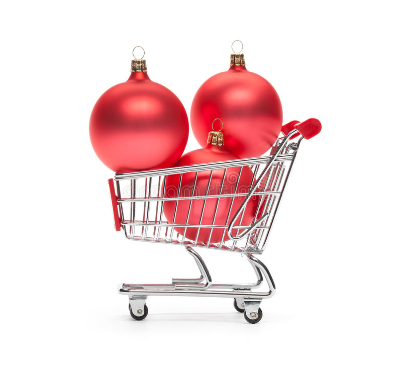 Download Christmas consumerism stock image. Image of still, trolley - 27424855
