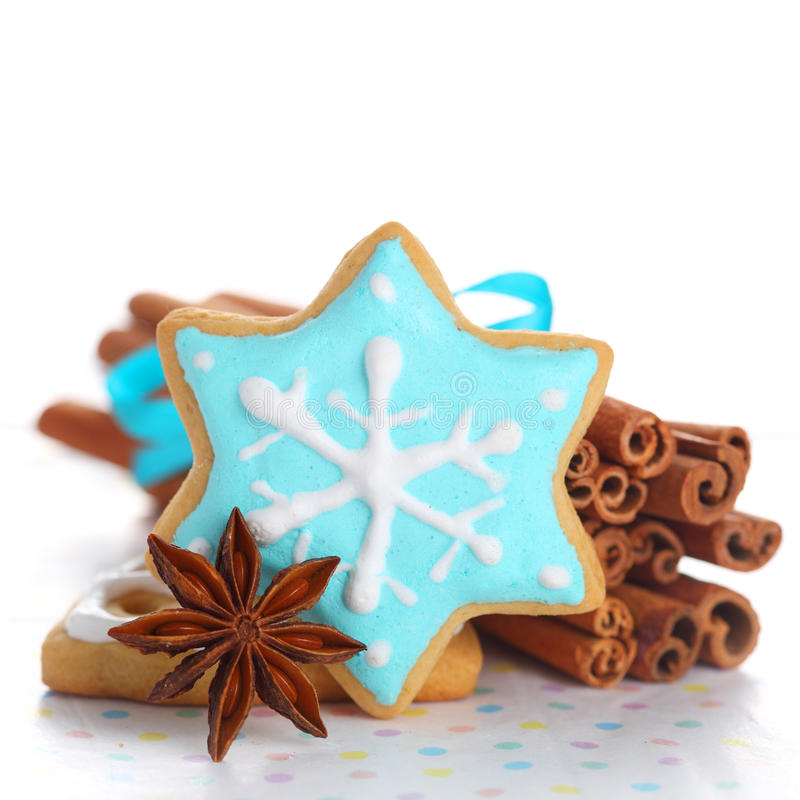 Free Christmas Cookies Royalty Free Stock Photos - 15953638