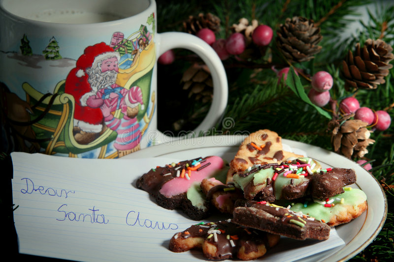 Download Christmas cookies stock photo. Image of december, pastry - 1708828