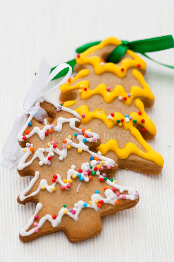 Download Christmas cookies stock photo. Image of traditional, green - 21406548