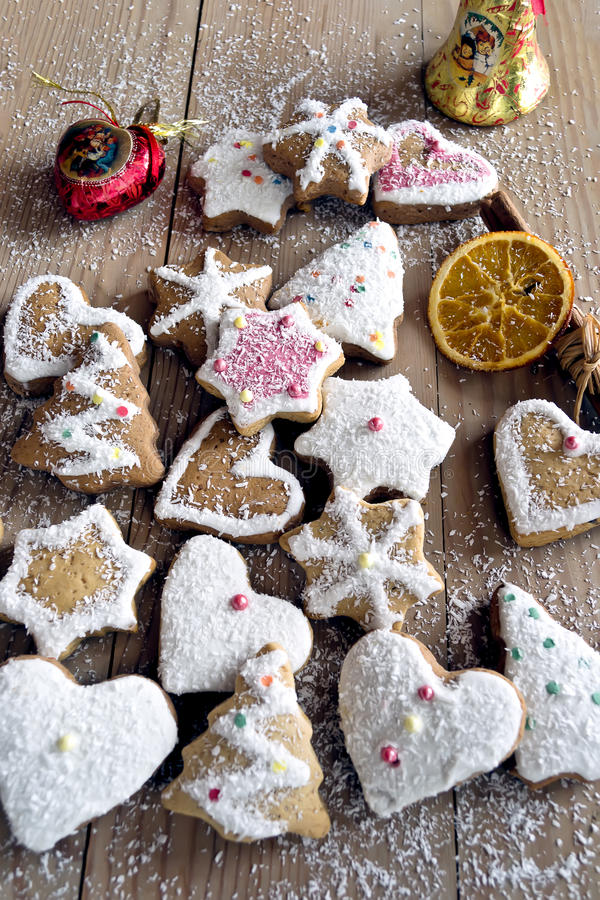 Free Christmas Cookies Stock Image - 22572441