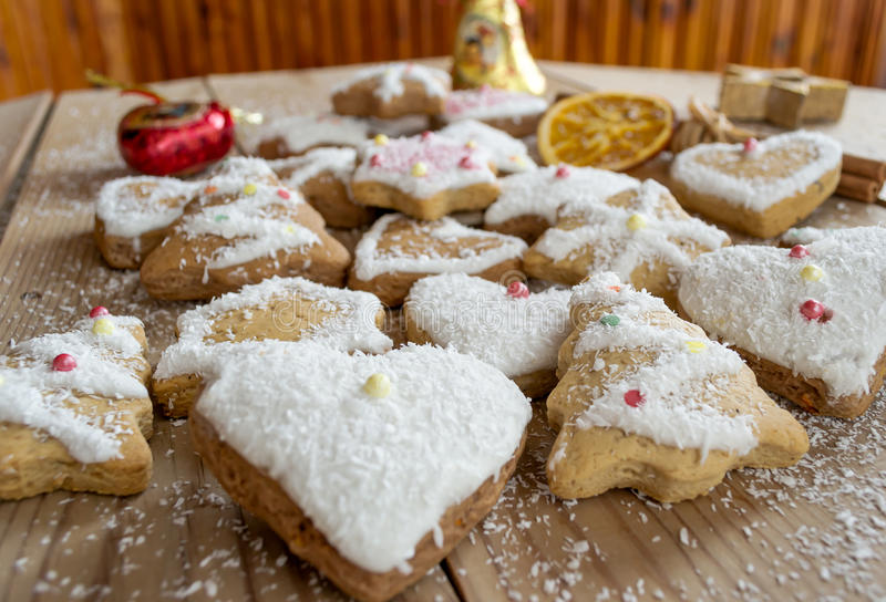 Download Christmas cookies stock photo. Image of background, gingerbread - 28103484