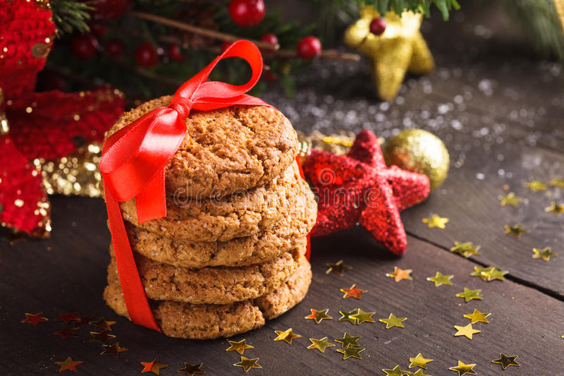 Download Christmas cookies stock photo. Image of drink, christmas - 28180446