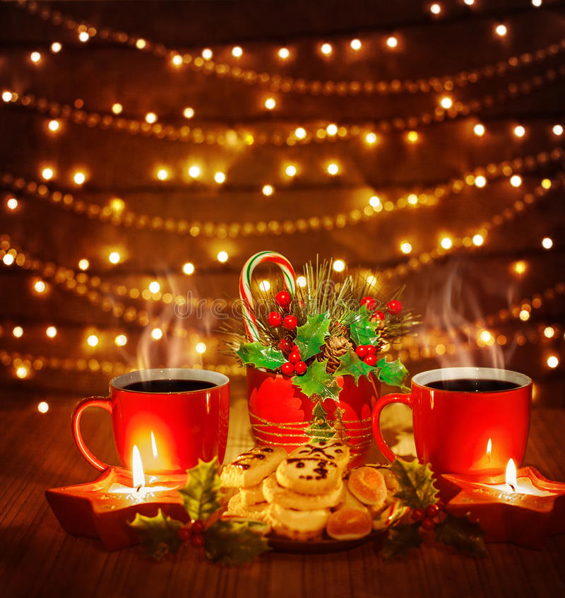 Download Christmas cookies stock image. Image of decorated, dark - 28194235