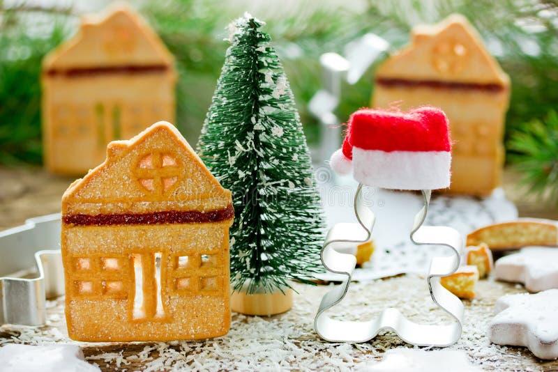Christmas cookies, fun and festive Christmas holiday treats royalty free stock photos