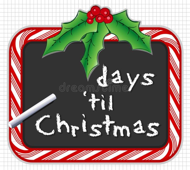 christmas countdown бесплатная иллюстрация