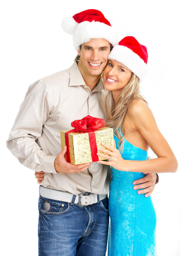 Free Christmas Couple Stock Photos - 11096373