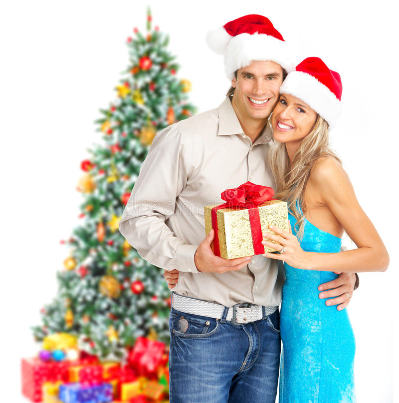 Download Christmas couple stock image. Image of happy, party, celebration - 11626511
