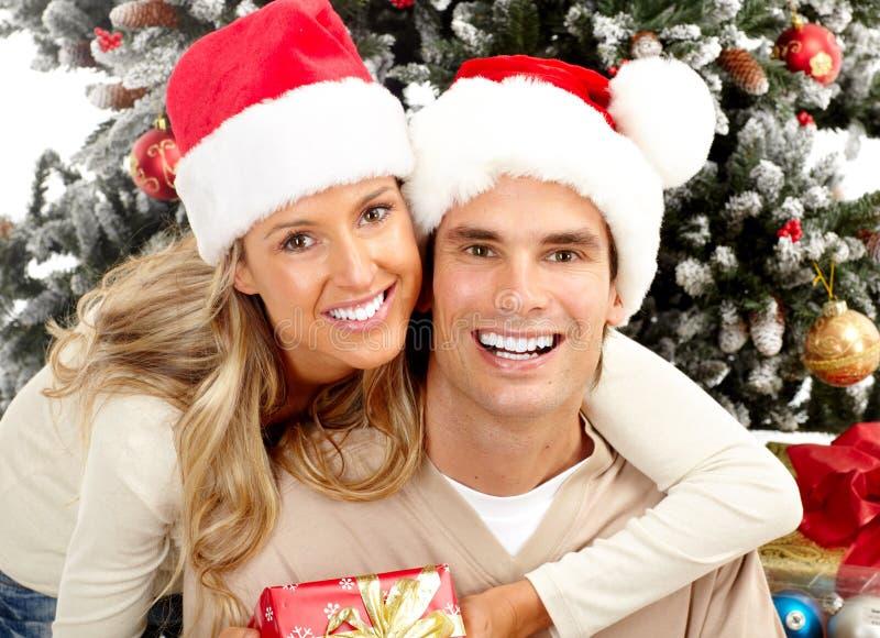Download Christmas couple stock photo. Image of people, couple - 11989612