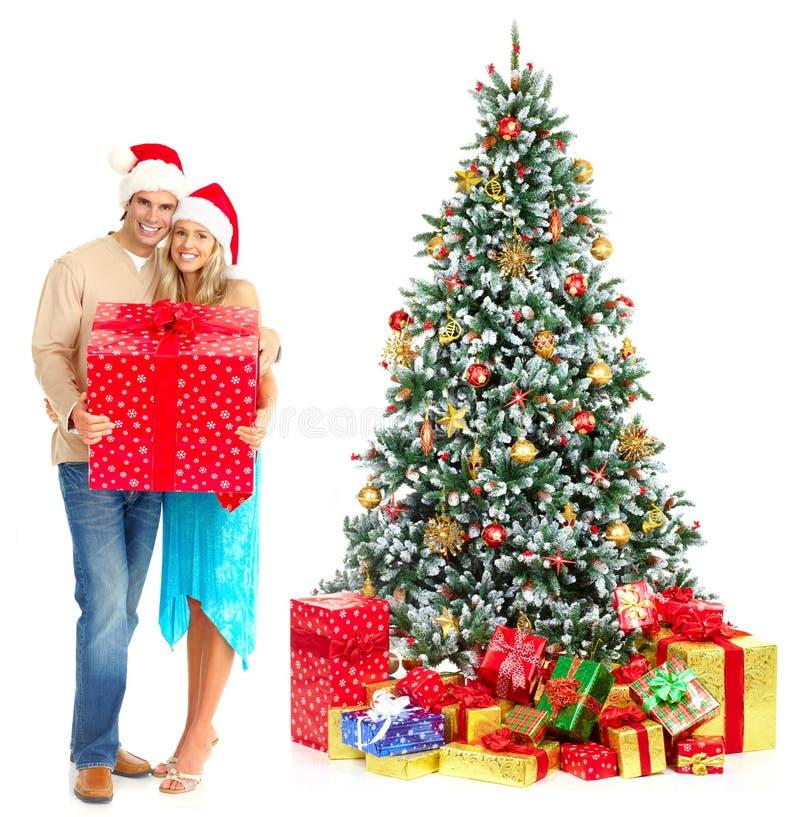 Download Christmas couple stock image. Image of background, girl - 12028095