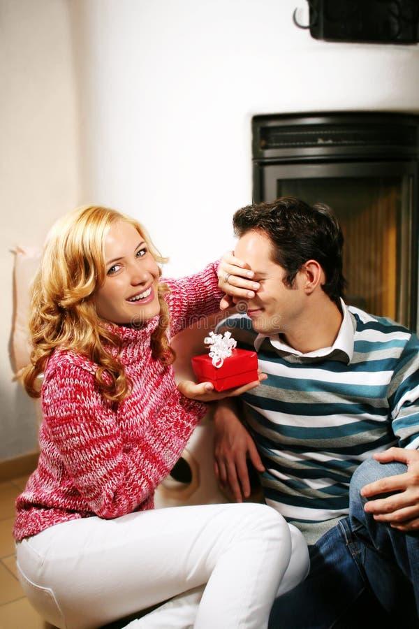 Free Christmas Couple Royalty Free Stock Image - 2947776