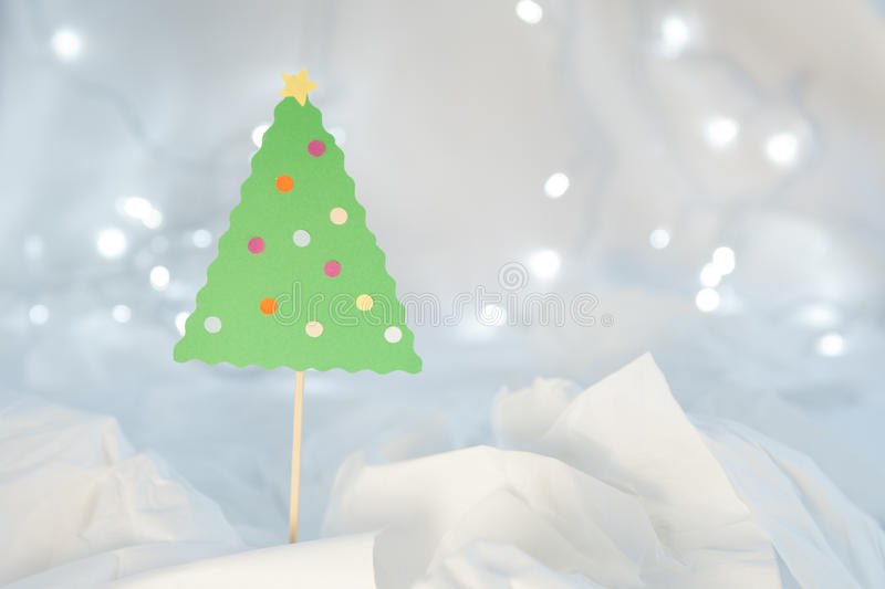 Christmas Craft Decoration stock photography
