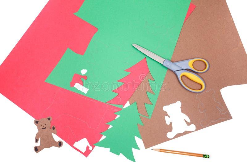 Christmas crafts stock photos