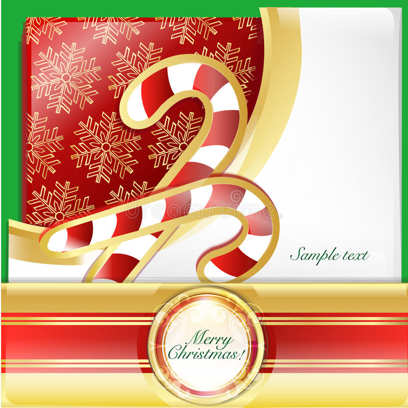 Download Christmas  crutches card stock vector. Illustration of line - 22519950