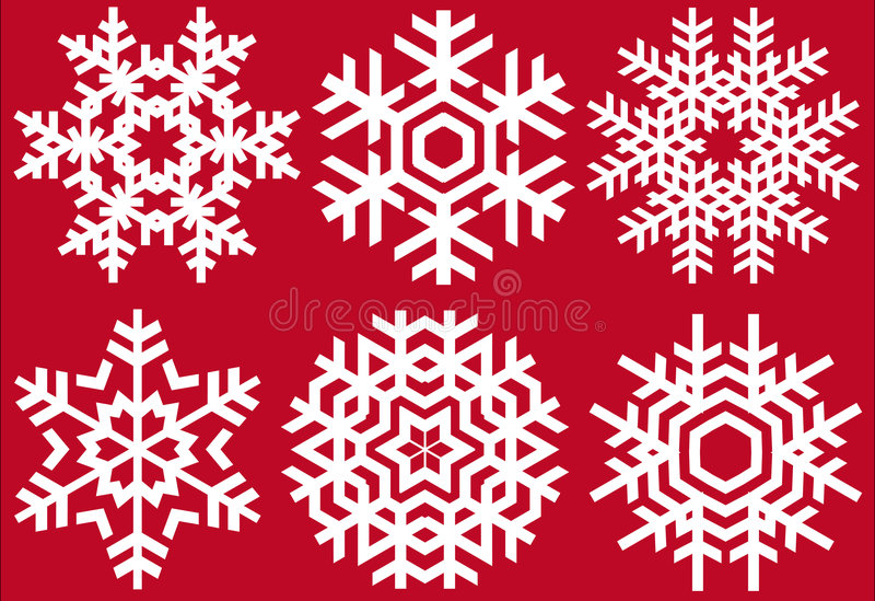 Download Christmas crystals stock vector. Image of december, flake - 6171934