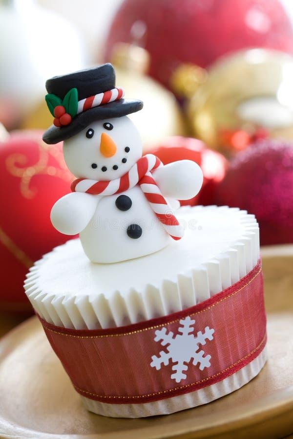 Free Christmas Cupcake Royalty Free Stock Photos - 11766808