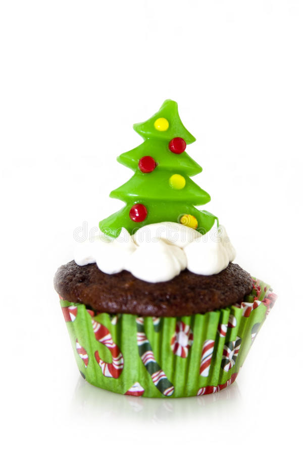 Download Christmas cupcake stock photo. Image of ornaments, eating - 22057360