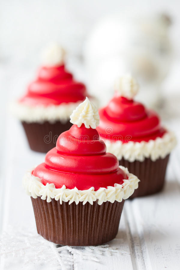 Download Christmas cupcakes stock image. Image of food, nobody - 35550885