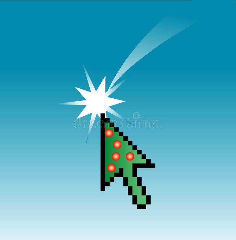 Download Christmas cursor stock vector. Illustration of screen - 3863450