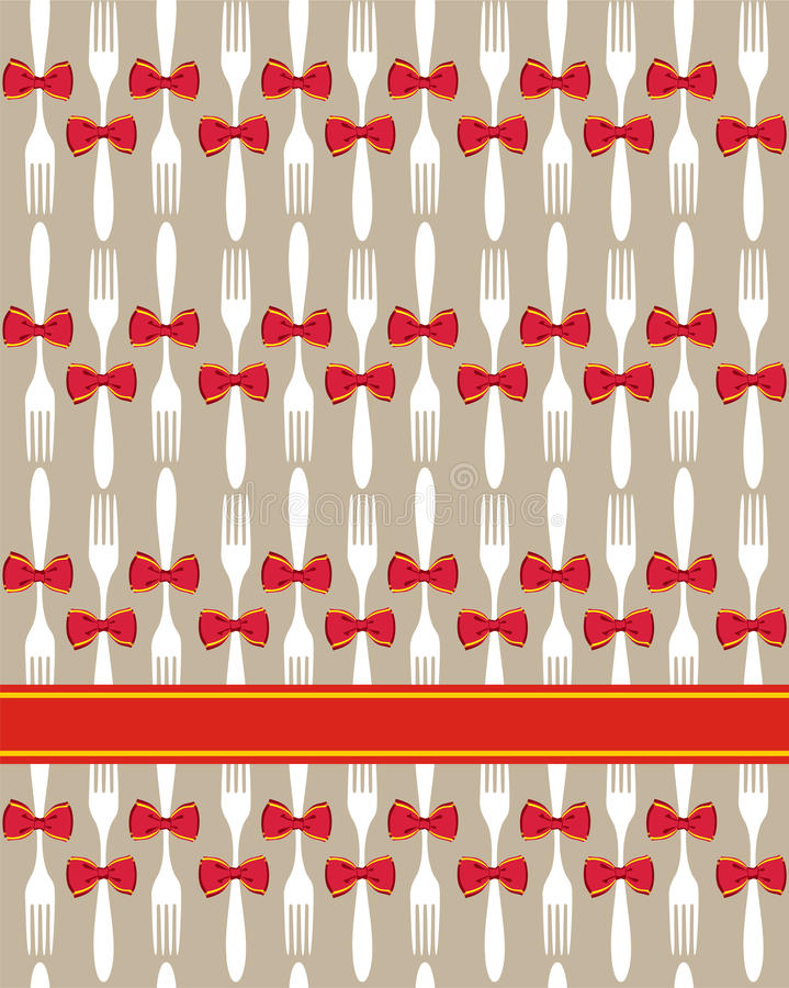 Download Christmas Cutlery Seamless Pattern Background Stock Vector - Image: 20460561
