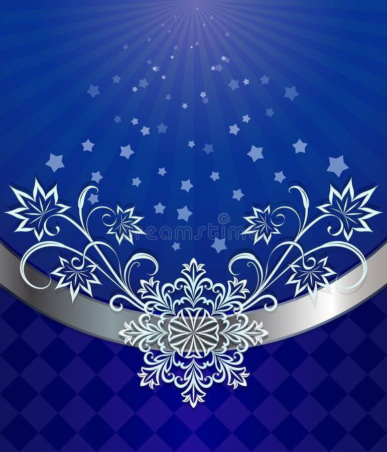 Download Christmas Dark Blue Background Stock Vector - Image: 28015090