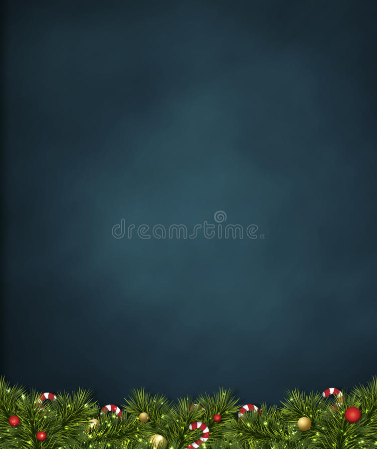 Christmas day. Merry christmas festival illustration and background royalty free illustration